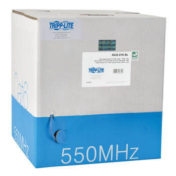 Tripp Lite N222-01K-BL 304.80m Cat6 Blue networking cable