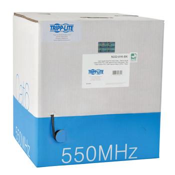 Tripp Lite N222-01K-BK 304.8m Cat6 U/UTP (UTP) Black networking cable