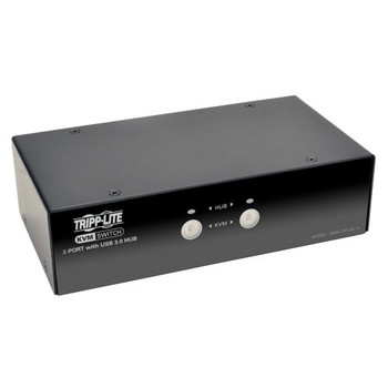 Tripp Lite B004-DPUA2-K Black KVM switch