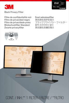 """3M Privacy Filter 23.8"""" Monitor Frameless display privacy filter"""