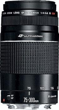 Canon EF 75-300mm f/4.0-5.6 III USM Black