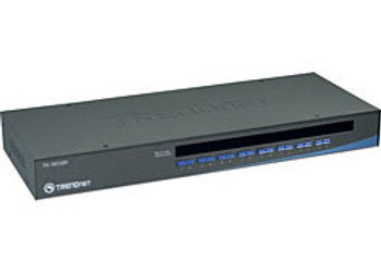 Trendnet 16-Port USB/PS/2 Rack Mount KVM Switch 1U Black KVM switch