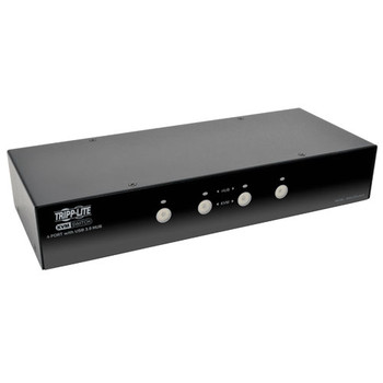 Tripp Lite B004-DPUA4-K Black KVM switch
