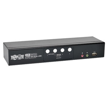 Tripp Lite B004-DUA4-HR-K Black KVM switch