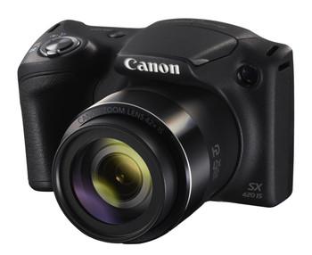 "Canon PowerShot SX420 IS Bridge camera 20MP 1/2.3"" CCD Black"
