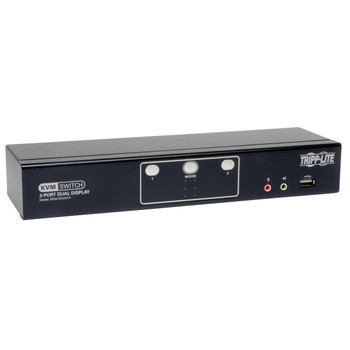 Tripp Lite B004-2DUA2-K Black KVM switch