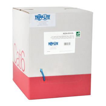 Tripp Lite N224-01K-BL 304.8m Cat6 U/UTP (UTP) Blue networking cable