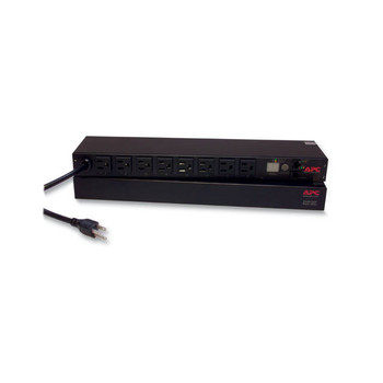 APC AP7900B Rack PDU/ Switched/ 1U/ 15A/ 100/ 120V Switched Rack Power Distribution Unit