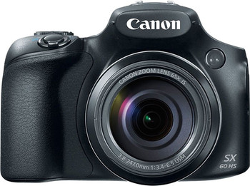 "Canon PowerShot SX60 HS Bridge camera 16.1MP 1/2.3"" CMOS 4608 x 3456pixels Black"