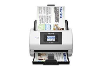 Epson DS-780N Sheet-fed scanner 600 x 600DPI A4 Black, White