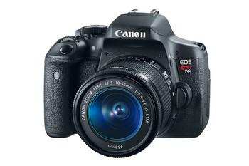 Canon EOS Rebel T6i + EF-S 18-55mm f/3.5-5.6 IS STM Kit SLR Camera Kit 24.2MP CMOS 6000 x 4000pixels