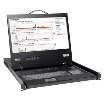 "Tripp Lite B040-016-19 19"" 1366 x 768pixels rack console"