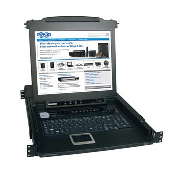 "Tripp Lite B020-008-17 17"" 1280 x 1024pixels Black rack console"