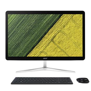 """Acer Aspire U27-880-UR13 2.7GHz i7-7500U 27"""" 1920 x 1080pixels Touchscreen Black, Silver All-in-One PC"""