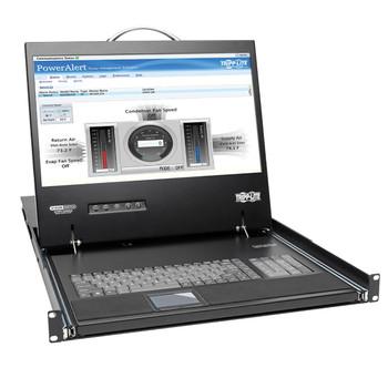 """Tripp Lite B070-016-19-IP2 19"""" 1280 x 1024pixels Black rack console"""