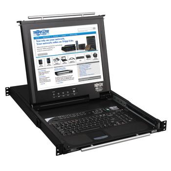 "Tripp Lite B020-016-17-IP 17"" Black rack console"
