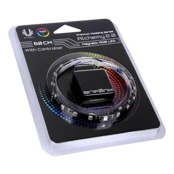 BitFenix Alchemy 2.0 RGB LED Magnetic Strip + Controller - 60cm