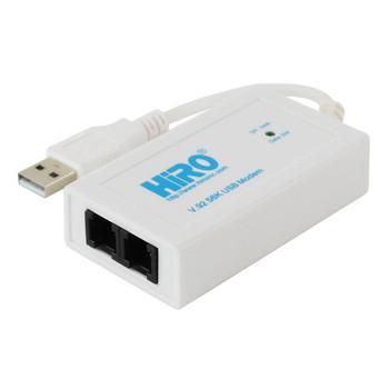 HiRO H50228 V92 56K External USB Data Fax Dial Up Internet Modem