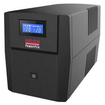 Maruson PowerPro PRO-1000LCD 1000VA/600W UPS System