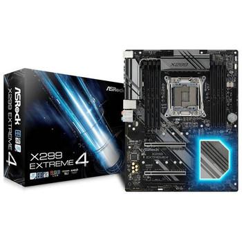 ASRock X299 EXTREME4 LGA2066/ Intel X299/ DDR4/ Quad CrossFireX & Quad SLI/ SATA3&USB3.1/ M.2/ ATX Motherboard