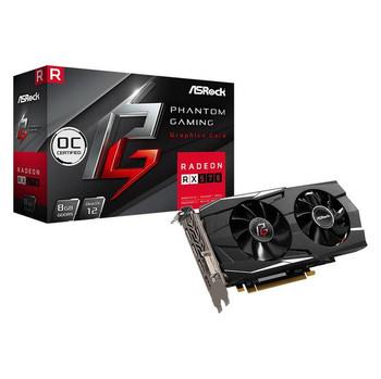 ASROCK Phantom Gaming D Radeon RX570 OC 8G GDDR5 DVI/HDMI/3DisplayPort PCI-Express Video Card