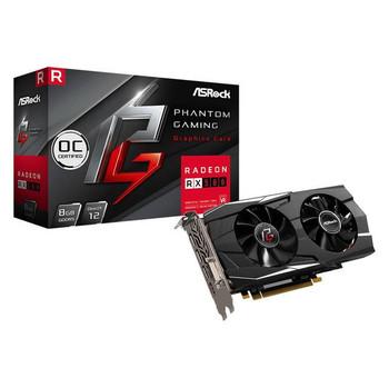 ASRock Phantom Gaming D Radeon RX580 OC 8GB GDDR5 DVI/HDMI/3DisplayPort PCI-Express Video Card