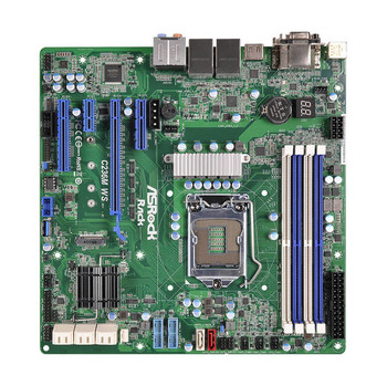 ASRock Rack C236M WS LGA1151/ Intel C236/ DDR4/ SATA3USB3.0/ M.2/ A&2GbE/ MicroATX Server Motherboard