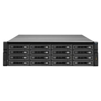 QNAP REXP-1610U-RP-US SAS/SATA/SSD 16-Bay 3U Rackmount RAID Expansion Enclosure for QNAP NAS