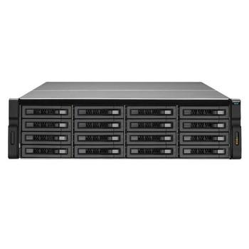 QNAP REXP-1620U-RP-US SAS/SATA/SSD 16-Bay 3U Rackmount RAID Expansion Enclosure for QNAP NAS