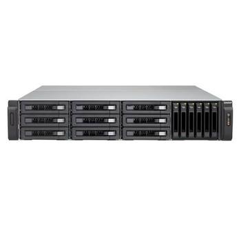 QNAP TVS-EC1580MU-SAS-RP-16G-R2-US Intel Xeon E3-1245 v3/E3-1246 v3 3.4/3.5GHz/ 16GB RAM  2U Rackmount NAS for Enterprise