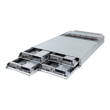 GIGABYTE H281-PE0 Four Node Dual LGA3647/ Intel C621/ DDR4/ V&3GbE 2U Rackmount Server Barebone System