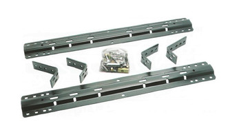 Part No: B8S55AA - HP Depth Adjustable Rail Kit For Z600 Z620 Z800 Z820 Workstations Rack Cabinet Complete Mount Kit