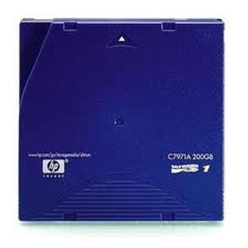 HP C7971A- LTO-1 100GB/200GB Backup Tape -  Packaging