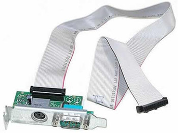 Part No: Y9001 - Dell Serial/PS2 Add-in Card Low Profile with Cable