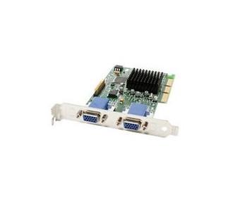 Part No: 0608UX - Dell Matrox G450 32MB AGP Dual VGA Connector