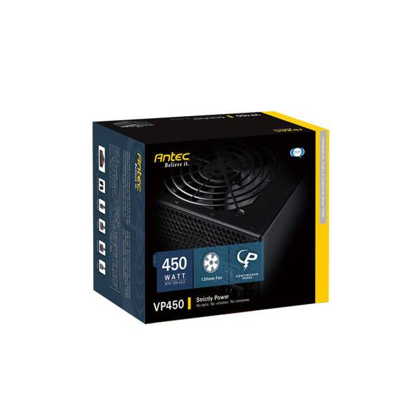 Antec Basiq VP-450 450W ATX12V v2.3 Power Supply