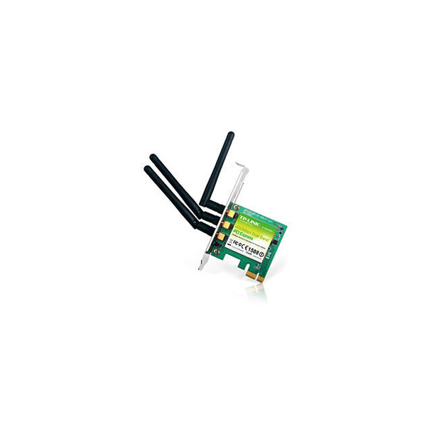 TP-Link TL-WDN4800 450Mbps Wireless N Dual Band PCI Express Adapter w/ 3x 2dBi Antennas