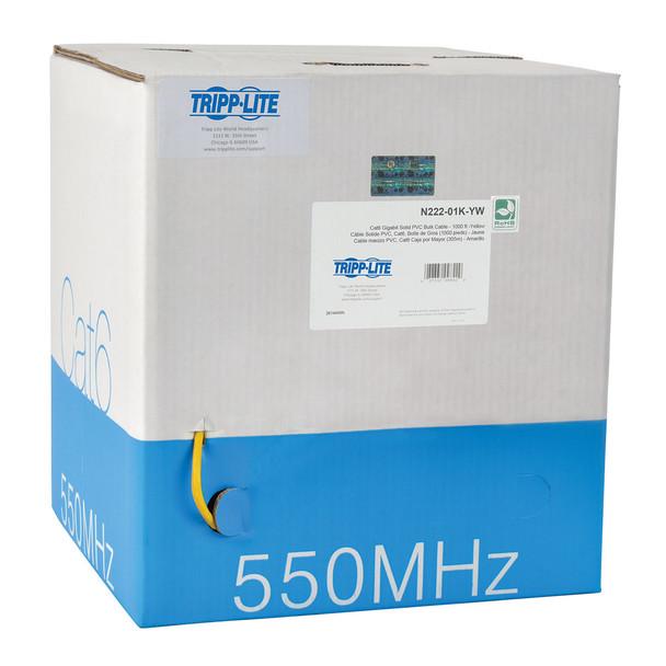 Tripp Lite N222-01K-YW 304.8m Cat6 U/UTP (UTP) Yellow networking cable