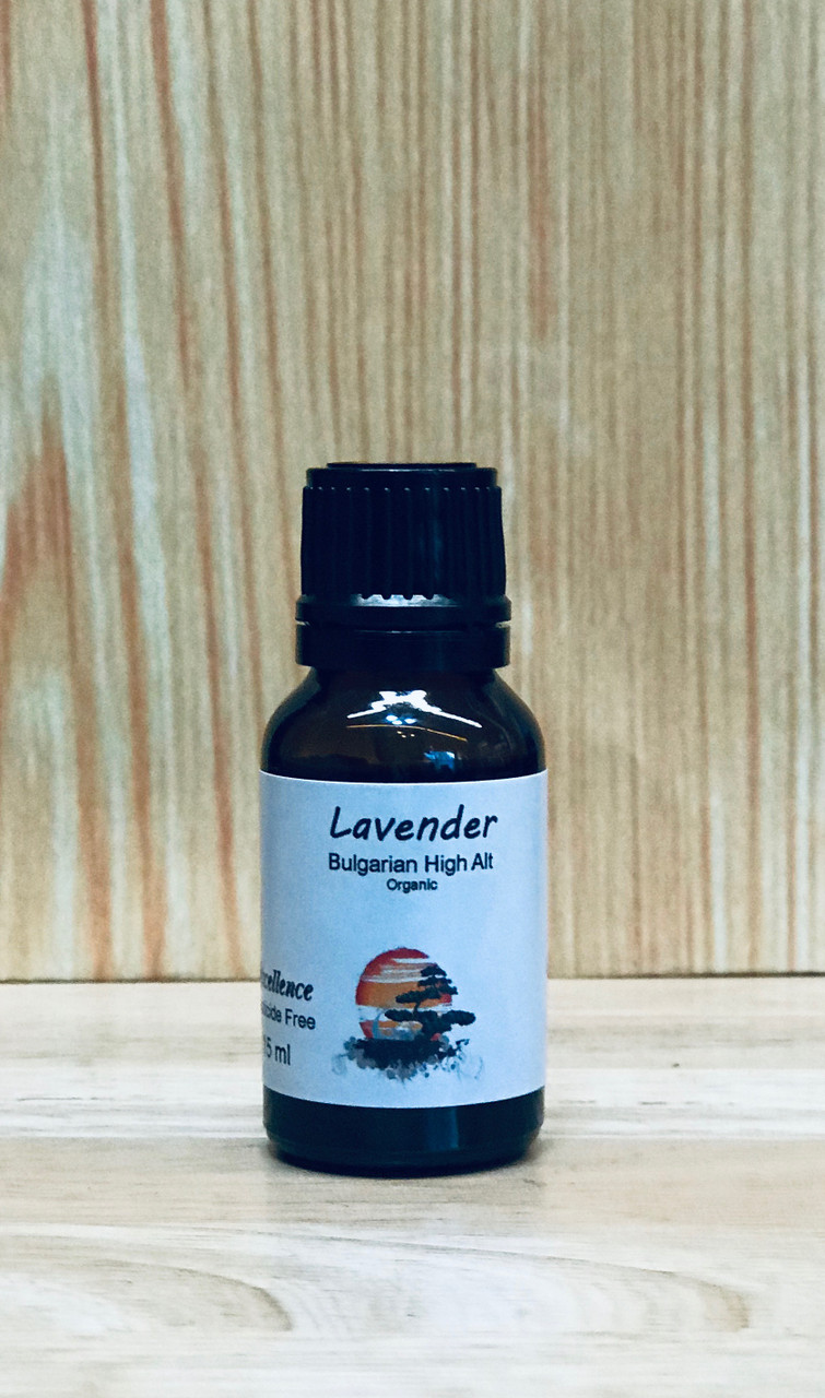 Lavender Bulgarian 15ml - High Altitude (Lavandula angustifolia)