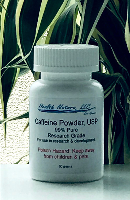 Caffeine Powder Natural Source 60g