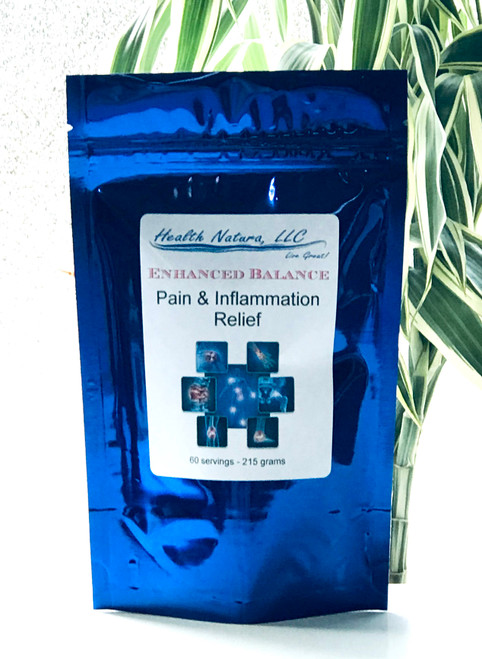 Pain & Inflammation Relief - Herbal Blend 60 Servings 215 gr
