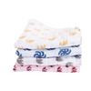 Soft Wash Cloth   Three Layer   4-pack (assorted)