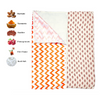 Portable Changing Mat | Two Layer | Lotus Lullaby | 2+1 pack