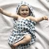 Herbal Hooded Towel | Three Layer | Pinwheel