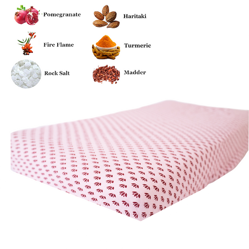 Fitted Crib Sheet | One Layer | Lotus Lullaby