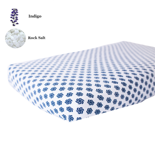 Fitted Crib Sheet | One Layer | Pinwheel