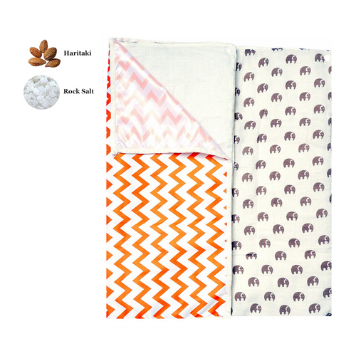 Portable Changing Mat | Two Layer | Elephant Parade | 2+1 pack