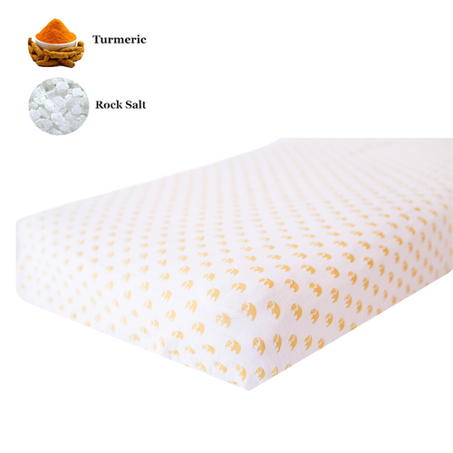 Fitted Crib Sheet | One Layer | Sunshine Tusks