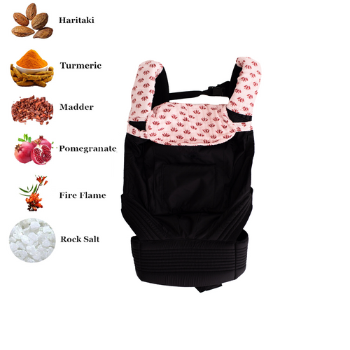 Baby Carrier Drool Bib & Teething Pads - Lotus Lullaby