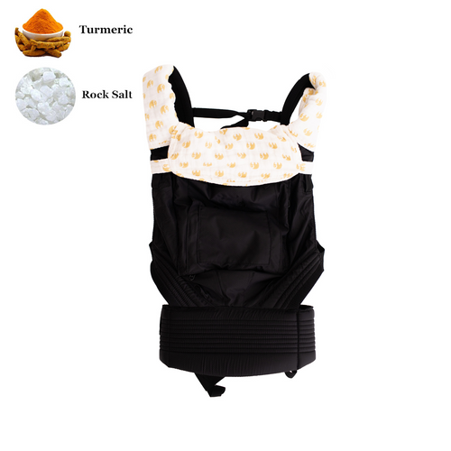 Baby Carrier Drool Bib & Teething Pads - Sunshine Tusks